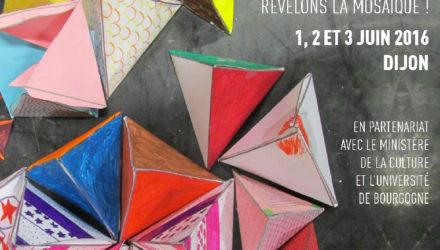 Affiche la Minoterie cocottes en papier de couleur
