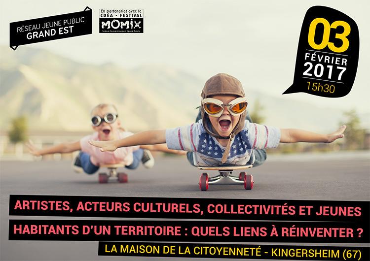 Participation culturelle : rencontre régionale jeune public à Momix