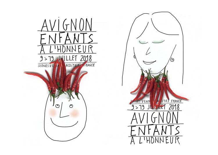 Avignon, enfants à l'honneur se fait beau / belle